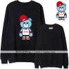 เสื้อแขนยาวกันหนาว (Sweater) IKON - WELCOME BACK (ลายหมี)