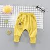กางเกง สีเหลือง แพ็ค 4 ชุด ไซส์ 80-90-100-110