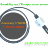 3% RH, 4-20 mA Humidity and Temperature sensor
