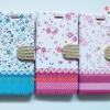 เคสกระเป๋าลายดอกไม้ ประดับเพชร Iphone 6 -4.7 นิ้ว