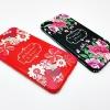 เคสไอโฟน 5/5se/5s tpu ลายดอกไม้ขอบเพชร Shengo