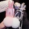 เคสหูกระต่ายตั้งได้หางฟู ไอโฟน 5/5s
