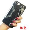 เคส iPhone 7 Plus (5.5 นิ้ว) กันกระแทก 2 ชั้น ด้านในเป็นซิลิโคน ด้านนอกเป็นพลาสติก PC สีเมทัลลิคเลียนแบบโลหะ เหมาะสำหรับเกมส์เมอร์ (GAMER) ตัวยง หรือนักดูซีรีย์ เพราะสามารถกางออกมาจับหรือถือได้อย่างสะดวกคุ้มมาก ราคาถูก