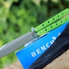 Benchmade Balisong Morpho BM51 Butterfly Knife Green G-10 51-1601