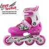 รองเท้าสเก็ต rollerblade รุ่น MAP สีชมพู-ขาว Size S **พร้อมเซทป้องกันสุดคุ้ม