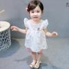 ชุดเซตเสื้อสีขาวลายหงส์+กางเกงสีชมพู แพ็ค 4 ชุด [size 6m-1y-18m-2y]