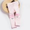 กางเกงเลคกิ้งน้องหมีสีชมพูอ่อน แพ็ค 5 ชิ้น [size 1y-2y-3y]