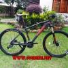 จักรยานเสือภูเขา TRINX TX28, เฟรมอลู ลบรอย ซ่อนสาย 27 สปีด โช๊คลม ปี 2017 (ULTRALIGHT) รีโมท