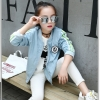 เสื้อแจ็คเก็ตสีฟ้า แพ็ค 6 ชิ้น [size 5y-6y-7y-8y-9y-10y]