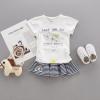 เสื้อ (ไม่รวมกระโปรง) สีขาว แพ็ค 4 ชุด ไซส์ 80-90-100-110