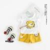 ชุดเซตลายสิงโตสีเหลือง [size 3m-6m-1y-2y-3y]
