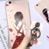 ไอโฟน 5/5se/5s เคสผู้หญิงติดแหวนห้อยตุ้งติ้งดอกไม้