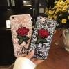 เคส tpu ลายลูกไม้ปักดอกกุหลาบ ซัมซุง A8ใช้ภาพรุ่นอื่นแทน)