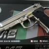ปืน BBgun WE Berretta M92FS Silver Full Auto ยิงรัวได้ (ไต้หวัน) โลหะทั้งตัว