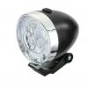 ไฟหน้าวินเทจ JY-592 3 LED มีสวิทซ์ เปิด-ปิด พร้อมถ่าน AAA สีดำ