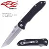 มีดพับ Ganzo รุ่น F714 สีดำ ปลายมีดทันโตะ Tanto ของแท้ 100% มาใหม่ กล่องดำ