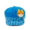 หมวกสีฟ้าลายเสือ แพ็ค 3 ชิ้น