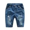 กางเกงยีนส์เด็กสีอ่อนแต่งรอยข่วน แพ็ค 5 ชิ้น [size 2y-3y-4y-5y-6y]