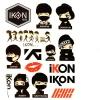 แทททู iKON (เซต 5 แผ่น)