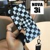 เคส Huawei Nova 3i เคสซิลิโคน ลายตารางหมากรุก พร้อมแหวนขาตั้ง แบบใหม่ สวยๆ แนวๆ