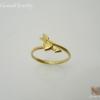 แหวนเงินลูกศรชุบทอง (Silver aorrow ring paint gold )