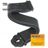 สายสะพาย Planet Waves Leather Planet Lock Guitar Strap, Black