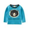 เสื้อแขนยาวสีฟ้าลายน้องหมี [size: 2y-3y-4y-5y-6y-7y]