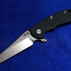 "RHK 3.5""Wharncliffe Fatty Blue/Black G-10"