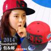 หมวก running man - CHO.2 (NETS) สีแดง