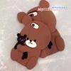 เคส iPhone 6 Plus / 6s Plus (5.5 นิ้ว) ซิลิโคน soft case หมีน้อยอุ้มตุ๊กตาน่ารักมากๆ ราคาถูก