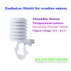 Radiation shield weather sensor