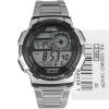 นาฬิกาข้อมือ คาสิโอ Casio World Time สายแสตนเลส รุ่น Ae1000wd-1av