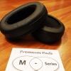 Premium Pads M-Series Earpad เอียร์แพดแบบหนานุ่มพิเศษสำหรับหูฟัง Audio Technica Ath M20x M30x M40x M50x