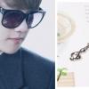 สร้อยรูปกุญแจซอล แบบ Baekhyun