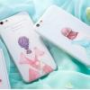 เคส iPhone 6 / 6s (4.7 นิ้ว) พลาสติกลายผู้หญิงแสนหวานสวยงามมาก ราคาถูก (ไม่รวมสายคล้อง)