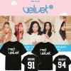 เสื้อยืด (T-Shirt) Red Velvet - THE VELVET (ชื่อเมมเบอร์)