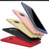 เคส Samsung S8 พลาสติกเคลือบเมทัลลิคแบบประกบหน้า - หลังสวยงามมากๆ ราคาถูก