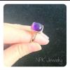 แหวนเงินอเมทิสต์ (Silver ring amethyst)