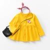 เสื้อแขนยาวสีเหลืองแต่งผีเสื้อที่หน้าอก [size 2y-3y-4y-5y-6y]