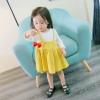 ชุดเดรสแขนยาวกระโปรงสีเหลือง แพ็ค 5 ชุด [size 6m-1y-18m-2y-3y]