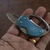 มีดพับ Buck 759 สีฟ้า พวงกุญแจซ่อนมีด ทนทาน ใช้ดีมาก A+++