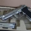 ปืน BBgun WE ไต้หวัน Berretta M 92 Silver 6 mm. AirSoftGun