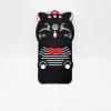 ซัมซุง J2 Prime เคสยาง 3Dแมวดำ