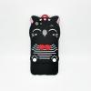 OPPO F5 เคสยาง 3Dแมวดำ