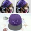 หมวก W สีม่วง แบบ Luhan