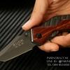มีดพับ Buck Knives X59 สี ด้ามไม้ (OEM)