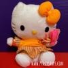 คิตตี้แปลงร่างเป็นแมคฟิช McDonald's World Cup 2002 Reversible Hello kitty - Japan (to Filet- O-Fish)