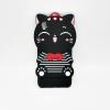 OPPO A37 เคสยาง 3Dแมวดำ