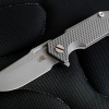 """RHK Half-Track Frame Lock Knife Titanium (2.75"""" Sand Blast)"""