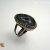 แหวนเงิน Tabasco Geode(Silver ring Tabasco Geode)